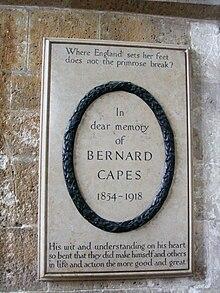 Bernard Capes - Wikipedia