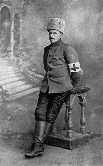 Bernard Pares - Pares in Russia during World War 1.