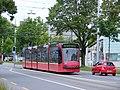 Bernmobil tram, Bern. Test journey from new depot (5985415776).jpg