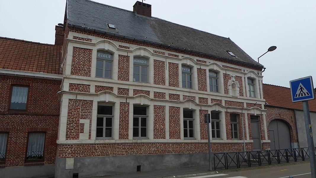 L'école de musique  Bersée Nord Nord-Pas-de-Calais-Picardie France.