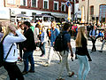 Besökare på Donners plats Almedalsveckan 2014 Visby.jpg