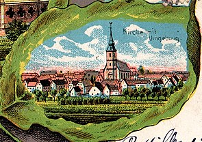 Bettviller village 1904.jpg