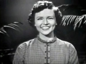 Hollywood on Television - Betty White in 1954
