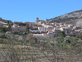 A general view of the village