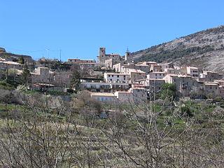 Bézaudun-les-Alpes Commune in Provence-Alpes-Côte dAzur, France