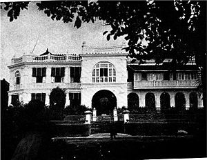 C. P. Ramaswami Iyer - Bhaktivilas, the residence of Sir C. P. Ramaswami Iyer while serving as the Diwan of Travancore