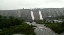 File:Bhatsa Dam in Monsoon Part 1.webm