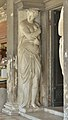 Biblioteca Marciana a Venezia facciata telamone ingresso sinistra.jpg