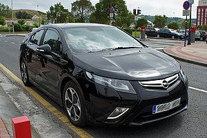 LG Chem - Chevrolet Volt, known as the Opel Ampera in Europe