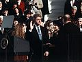 Bill Clinton taking the oath of office, 1993 (cropped).jpg