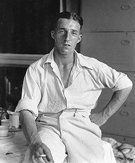 Bill Edrich Cricket player of England.