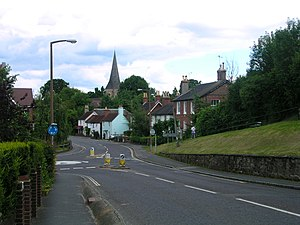 Billingshurst - Image: Billingshurstfrom south