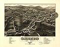 Bird's eye view of Whitefield, Coos County, N.H., 1883. LOC 75694704.jpg