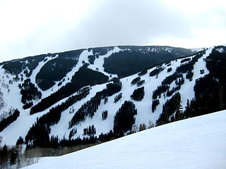 Beaver Creek Resort ski resort in Colorado, USA