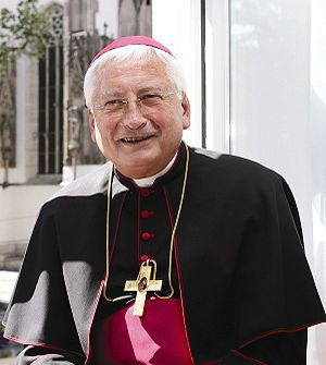 Roman Catholic Bishop of Augsburg - Walter Mixa, bishop emeritus of Augsburg