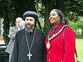 Bishop Angaelos and Cllr Sherma Batson (21087502421).jpg