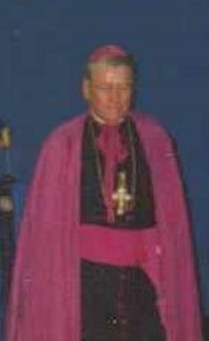 Edward D. Head - Bishop Edward Head at University of Buffalo, 1992