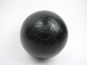 Super Ball - A branded Wham-O Super Ball from 2001