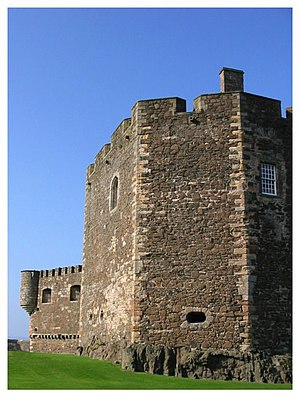 James Hamilton of Finnart - Some gunloops at Blackness Castle date from Finnart's works