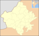 Blank Map Rajasthan state and districts.png