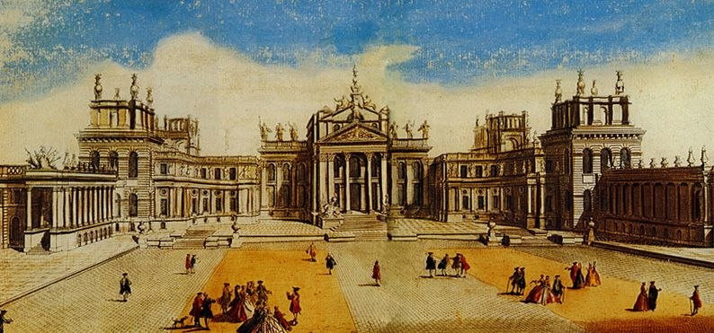 Blenheim engraving