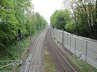 Blick vom Horner Weg auf der Grenze zwischen Hamburg-Hamm und Hamburg-Horn auf die Güterumgehungsbahn 2.jpg