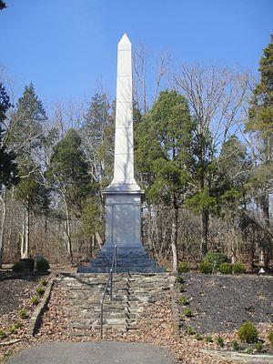 Blue Licks Battlefield State Resort Park - Monument at the Blue Licks Battlefield