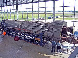 Blue Streak (missile) - Image: Blue Streak