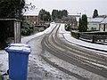 Blue bin day, McClay Park, Omagh - geograph.org.uk - 1130781.jpg