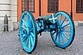 Blue cannon at Vaxholm Fortress.jpg