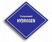 Compressed hydrogen storage mark