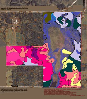 Otter Tail County, Minnesota -  Soils of Bluff Creek WMA area
