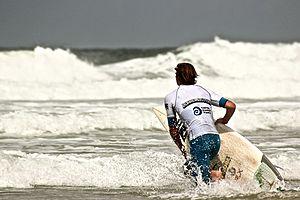 Boardmasters Festival - Pro surfer from Boardmasters Festival 2014