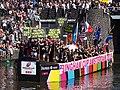 Boat 11 Bingham Cup Amsterdam 2018, Canal Parade Amsterdam 2017 foto 6.JPG