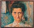Boccioni - Aunt relative portrait nose eyes mouth face hair color.jpg
