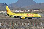 Boeing 737-8K5(w) 'D-ATUH' TUIfly (24417522784).jpg