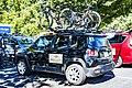 Boels Dolmans team car at the start of Stage 3 in Elk Grove (34073667324).jpg