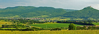 Zollernalbkreis - Alb mountains and Zollern castle