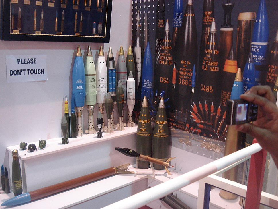 Bomb Shells produced at POF WAH