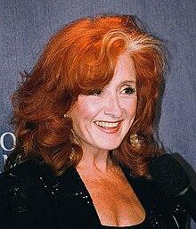 Bonnie Raitt en mars 2000