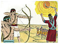 Book of Joshua Chapter 10-4 (Bible Illustrations by Sweet Media).jpg