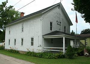 Boscobel, Wisconsin - Boscobel Grand Army of the Republic Hall