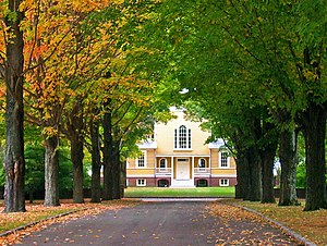 National Register of Historic Places listings in Putnam County, New York - Image: Boscobel entrance road