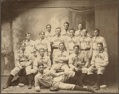 The 1901 Boston Americans team photograph Boston Americans team picture.jpg