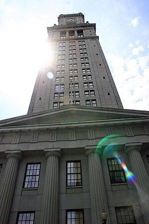 Custom House Tower - Boston's Custom House Tower, resting on the original 1849 Custom House structure.