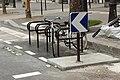 Boulevard Saint-Martin (Paris), arceaux à vélo 01.jpg