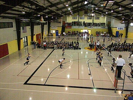 Brandon Burlsworth Youth Center hosts basketball and volleyball for youth and high school teams. Harrison, Arkansas Brandon Burlsworth Youth Center Harrison, Arkansas.jpg