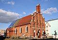 Braniewo - kościół Św. Trójcy, ob. gr.-kat. (aktualnie remontowany).jpg