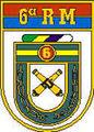 Brasão da 6ª Região Militar do Exército Brasileiro.jpg