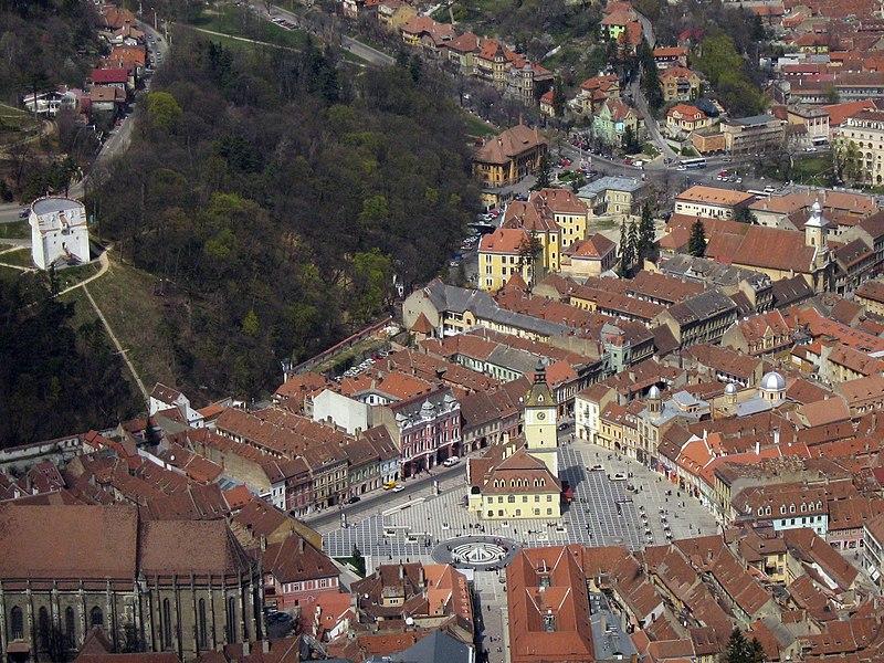 Brasov, medieval city, Romania.